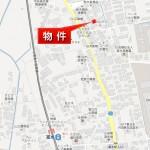 【土地】富水駅徒歩5分 37坪